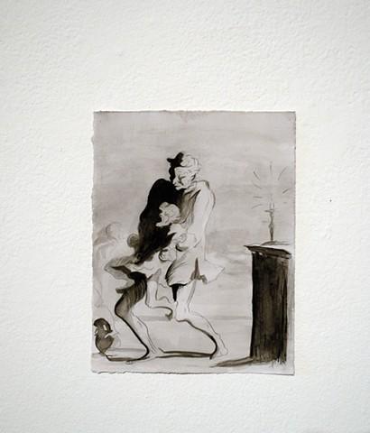 Imitation, Imitation, Imitation (after Daumier)