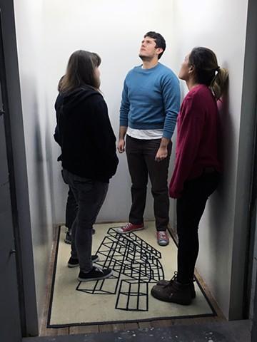 Exhibition @ Elevator Mondays, LA Three Dimensional Stimuli, and Reflected Versions Nov. 6th 2017