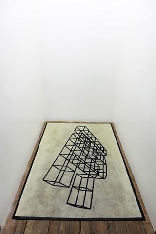Exhibition @ Elevator Mondays, LA Three Dimensional Stimuli, and Reflected Versions Nov. 6th 2017 - January 1, 2018