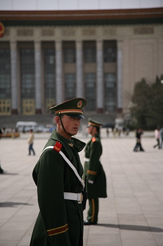 Guard at Tienamen