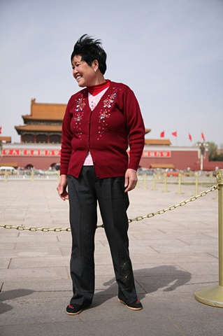 Woman at Tienamen