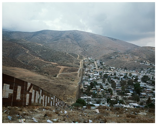 US/Mexico Border, East Terminus, 0km