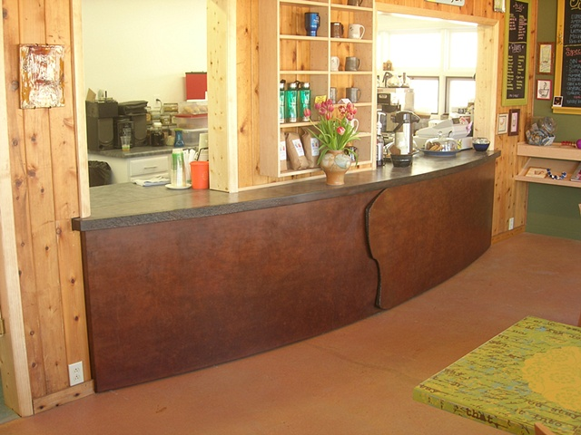 Penland Coffee House Counter
