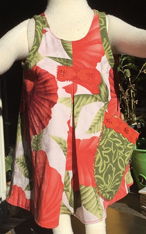 Tropical Wrap Dress