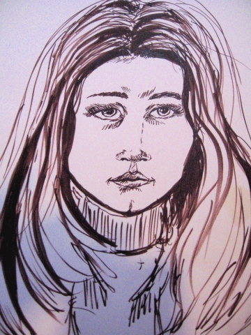 Ariella age 16-Drawing