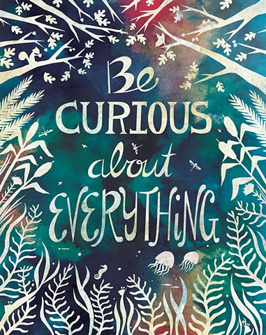 Be Curious - Licensed by Oopsy Daisy