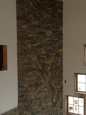 Ledgestone design