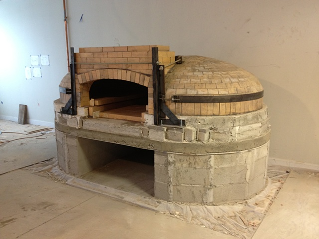 Pizza oven core