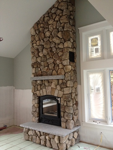 New Hampshire thin stone veneer