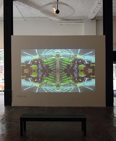 Cataloguing Pattern Installed at SPACE  (Aaron Henderson and Ted Coffey)