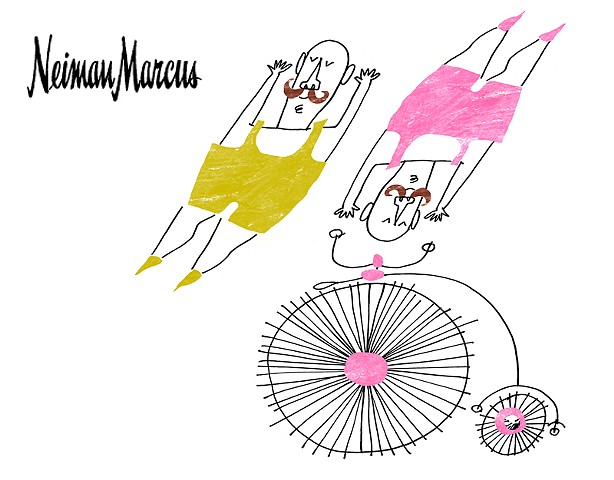 Neiman Marcus Circus guys for Children's section