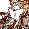 Velvet reading girl