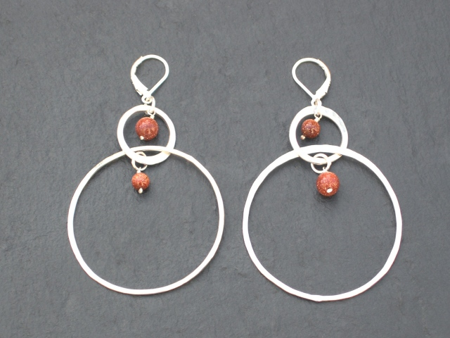 Monaco Hoop Earrings