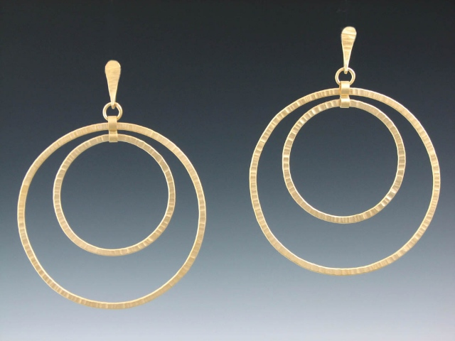 Eclipse Earring with post