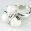 Spinner Ring-White
