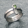 Simple Band with Tourmaline