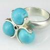 Spinner Ring-Turquoise