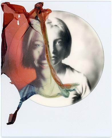 polaroid, impossible project, emulsion lift, instant film, film, double, dobles, portrait