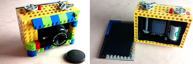 lego camera, 127 film, 35mm film analog, analogue, film, lego, toy camera,  scratches, lightleaks