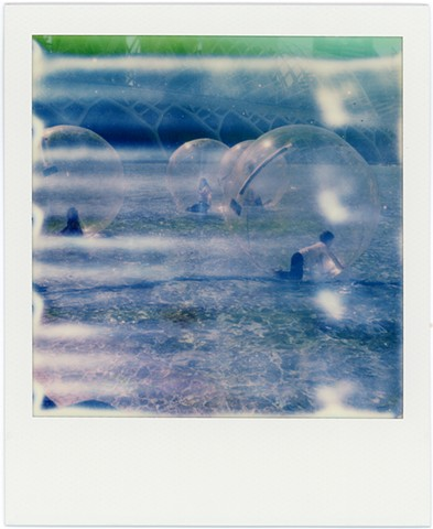 impossible project, color, film, analog, analogue, portrait, photography, by urizen freaza, future, rollers, ball, water, gen2.0, second generation, children