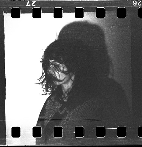 lego camera, 127 film, 35mm film analog, analogue, film, black and white, lego, toy camera, self-developed, scratches, lightleaks, portrait, hair