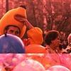 The man inside Winnie the Pooh