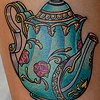 teapot tattoo by chris lowe naked art tattoos odenton md