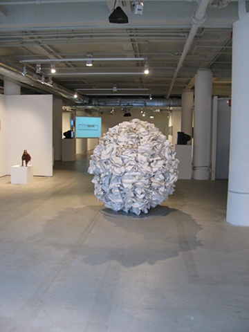 Untitled (installation shot at SAIC graduate thesis show)