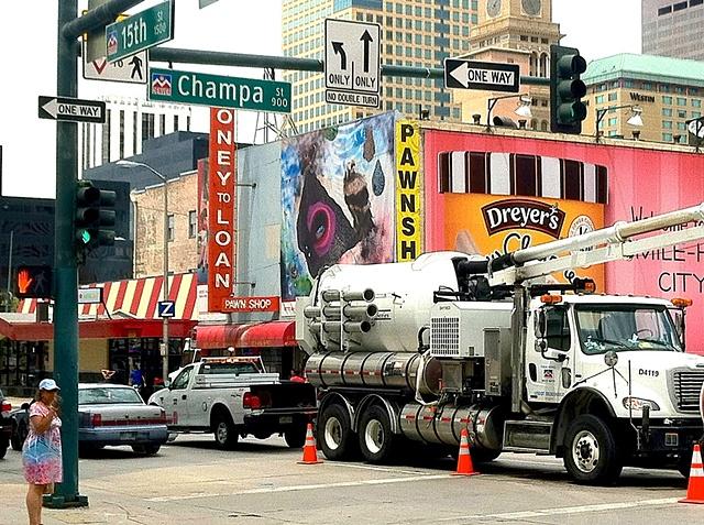 DTD billboard project, 15th & Champa, Denver, CO