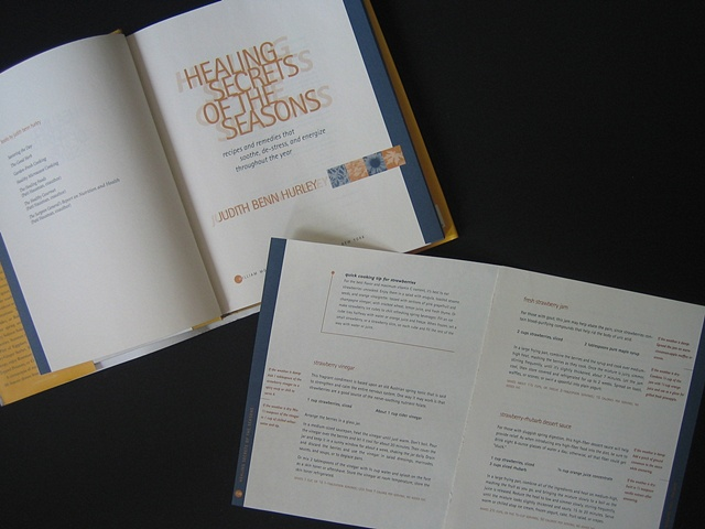HEALING SECRETS OF THE SEASON Cookbook