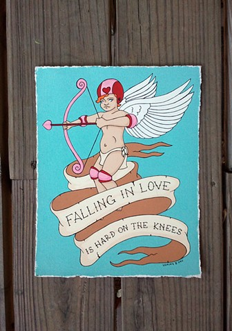Falling in Love (Is Hard on the Knees)