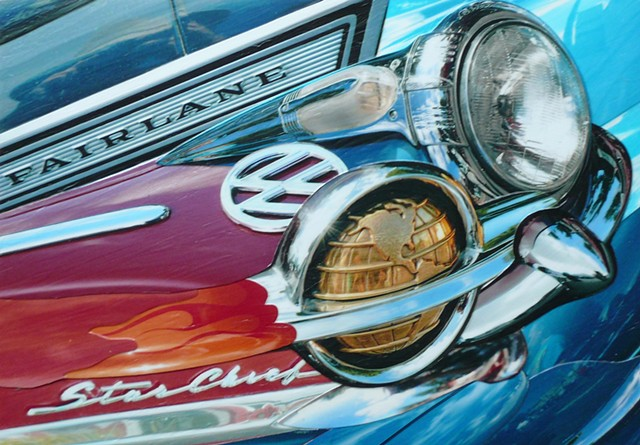 """Fairlane"" - Photo Collage by Vashon artist John Schuh."