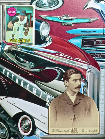"""FUTURAMIC"" - Collage by Vashon artist John Schuh."