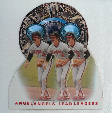 """ANGELS LEAD"" - Collage by Vashon Artist John Schuh"