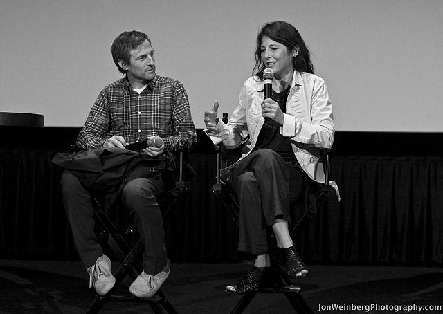 Spike Jonze & Catherine Keener
