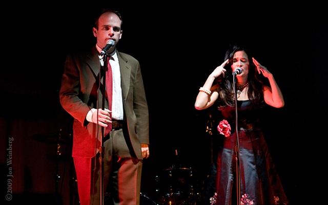 The Hosts: Joel Spence &  Romi Dames