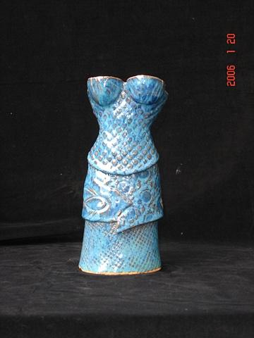 Shabby Dress-Blue