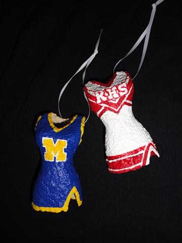 Custom Cheerleading Ornament