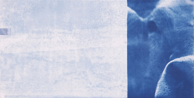 Ken Nurenberg, contemporary, drawing, collage, conceptual, cyanotype