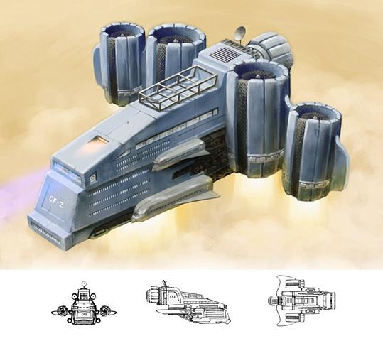 Industrial Design - Desert Transportation