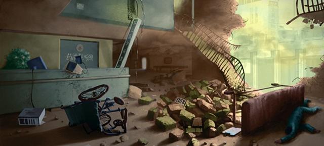 Environment Design - Destroyed Hospital