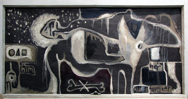Cave Art Window: Animal