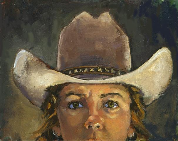 self as cowgirl
