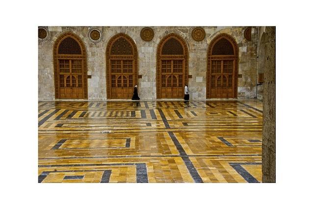Mosque in Aleppo Syria