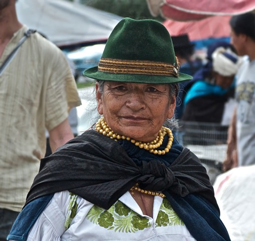 Women from the Otavalo Valley, Ecuador