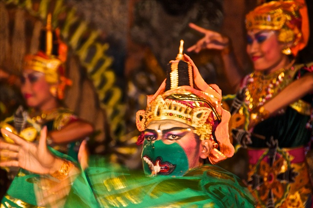 Dancer at the Ubud Palace