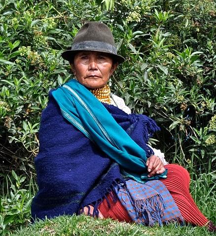 costume, market in Otavalo, Ecuador