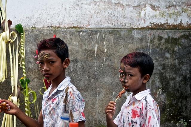 Boy's Festival #2 at Pura Duurbingen, Tengallang, Bali