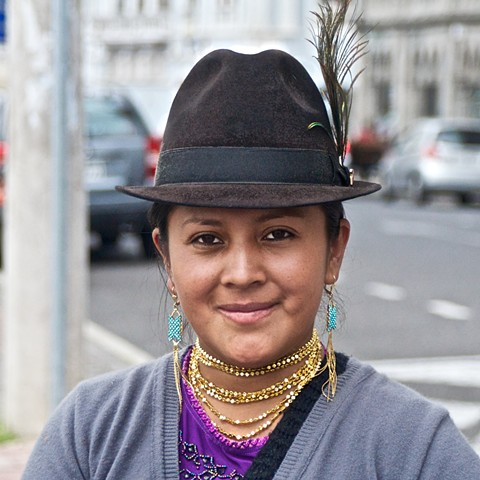 Young Scarf Seller, Quito, Ecuador