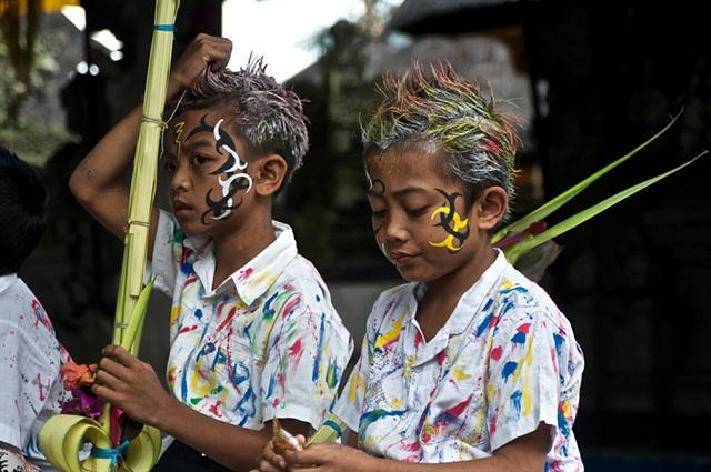 Boy's Festival #4, Pura Duurbingin, Tengallalang, Bali
